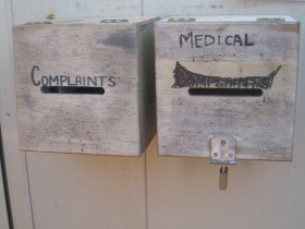 Curtin IDC Complaints Box