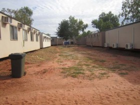 Curtin IDC dorms in compound